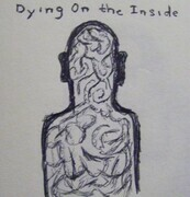 Dying on the Inside 11x14 ink sketch
