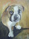 GROMIT 16X20 INCH ORIGINAL ACRYLIC PET PORTRAIT 2009